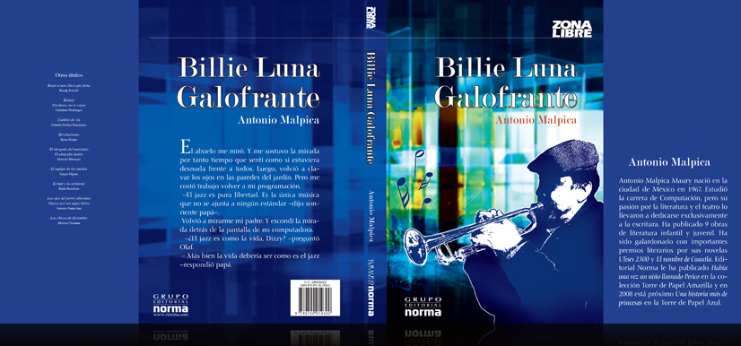 Book Portrait: Billie Luna Galofrante
